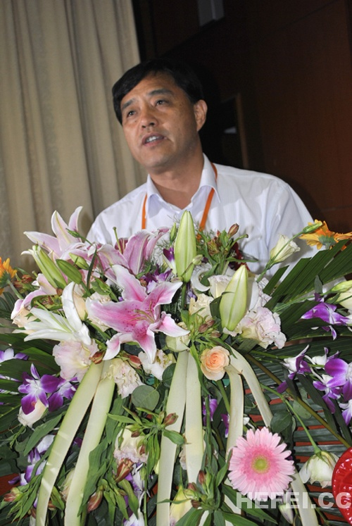 阜阳市市委书记、市人大常委会主任宋卫平发表讲话